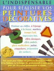L'Indispensable Pour Poser Vos Peintures Decoratives - Intérieur - Format classique