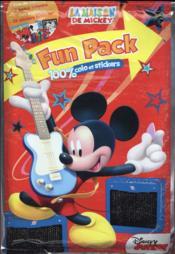 La maison de Mickey ; fun pack - Couverture - Format classique