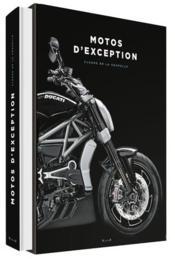 Motos d'exception - Couverture - Format classique