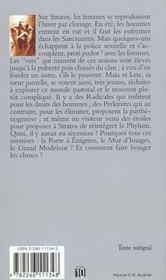 La Jeune Fille Et Les Clones - 4ème de couverture - Format classique
