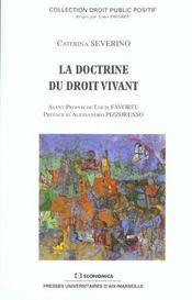 La doctrine du droit vivant - Intérieur - Format classique