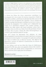 Physique Des Ondes 2e Annee Pc-Pc*-Psi-Psi* Cours Et Exercices Corriges - 4ème de couverture - Format classique