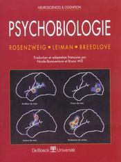 Psychobiologie - Intérieur - Format classique