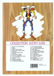 Lucky Luke T.2 ; rodéo - 4ème de couverture - Format classique