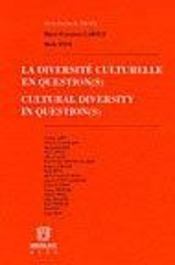 La diversite culturelle en question - Intérieur - Format classique