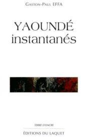 Yaounde Instantanes - Couverture - Format classique