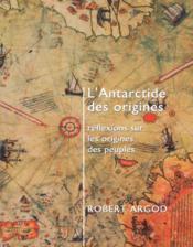 L'Antarctide ; Reflexions Sur Les Origines Des Peuples - Couverture - Format classique