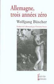 Allemagne ; Trois Annees Zero - Intérieur - Format classique