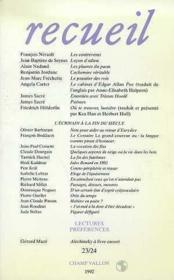 Receuil 23/24 - Couverture - Format classique
