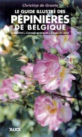 Le Guide Illustre Des Pepinieres De Belgique - Intérieur - Format classique