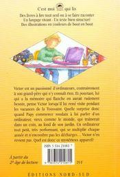Le Mysterieux Ordinateur De Papy - 4ème de couverture - Format classique
