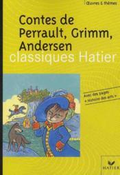 Contes de Perrault, Grimm, Andersen - Couverture - Format classique