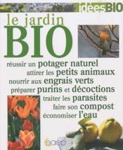 Le jardin bio - Couverture - Format classique