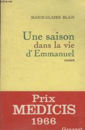 Une Saison Dans La Vie Demmanuel. - Couverture - Format classique