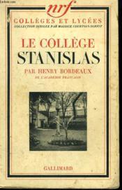 Le College Stanislas. - Couverture - Format classique