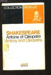 Antoine et Cléopatre (Antony and Cleopatra) - Couverture - Format classique