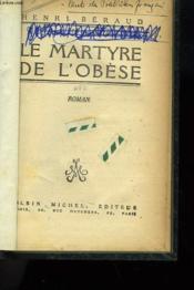 Le Martyre De L'Obese. - Couverture - Format classique