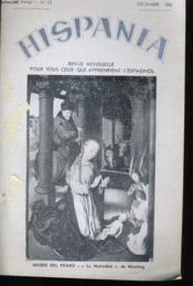 HISPANIA VIe ANNEE N°53 - Couverture - Format classique