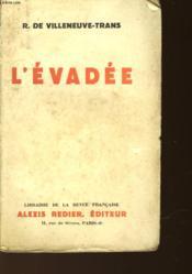 L'Evadee - Couverture - Format classique