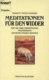 Meditationen Für Den Widder - Couverture - Format classique