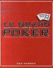 Le grand livre du poker - Intérieur - Format classique