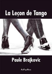 La leçon de Tango - Couverture - Format classique