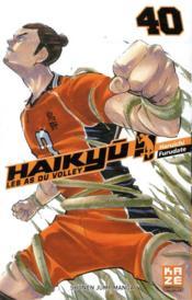 Haikyu !! les as du volley T.40 - Couverture - Format classique