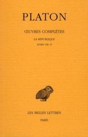 République t.7 ; 2 part, livres VII - X - Couverture - Format classique