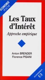 Taux D'Interet Reels (Les) - Couverture - Format classique