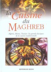 Cuisine Du Maghreb (La) - Intérieur - Format classique