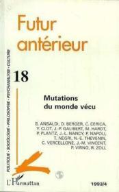 Mutations Du Monde Vecu - Couverture - Format classique