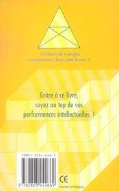Gymnastique De L'Esprit 101 Casse-Tete - 4ème de couverture - Format classique