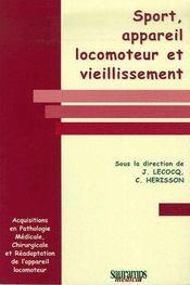 Sport, appareil locomoteur et viellissement - Couverture - Format classique