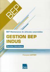 Gestion Bep Indus - Couverture - Format classique