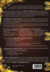 Compagnon pour l'apprenti sorcier - 4ème de couverture - Format classique