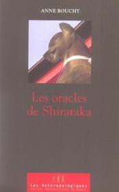 L'oracle de shirataka - Intérieur - Format classique