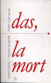 Das, la mort - Couverture - Format classique