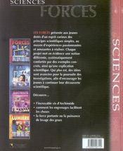 Forces - 4ème de couverture - Format classique