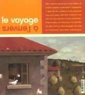 Voyage A L'Envers (Le) - 4ème de couverture - Format classique