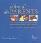 Le Livre D'Or Des Parents - Intérieur - Format classique