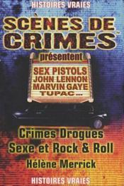Crimes, drogue, sexe et rock'n roll - Couverture - Format classique