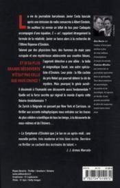 La symphonie d'Einstein - 4ème de couverture - Format classique