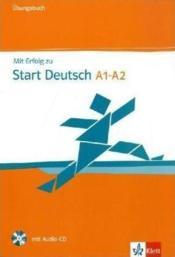 Mit erfolg zu ; start deutsch ; A1-A2 - Couverture - Format classique