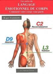 Les cartes du langage émotionnel du corps ; coffret - Couverture - Format classique
