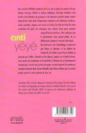 Anti-Yeye - 4ème de couverture - Format classique