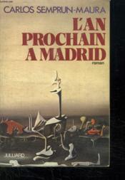L An Prochain A Madrid. - Couverture - Format classique