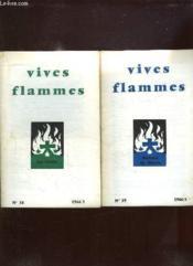 Vives Flammes Du N° 37 Au N° 42 Annee 1966. Liturgie Et Priere, La Croix, Beaute De Marie, Pauvrete D Ame, Peuple Saint, Se Donner. - Couverture - Format classique