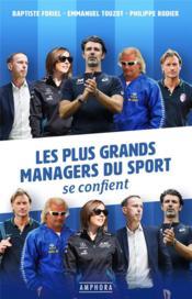 Les plus grands managers du sport se confient - Couverture - Format classique