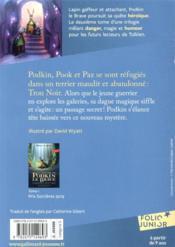 La légende de Podkin le brave T.2 ; le trésor du terrier maudit - 4ème de couverture - Format classique