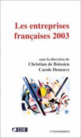 Les entreprises françaises 2003 - Couverture - Format classique
